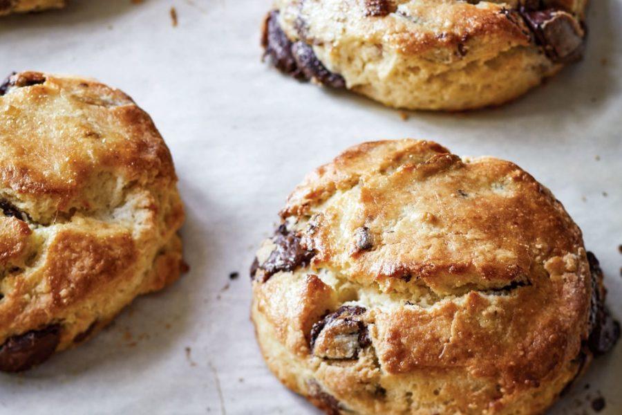 <pre>Recette de scones au chocolat et aux pacanes d'Ina Garten