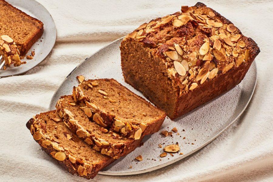 <pre>Beurre d'amande et pain de confiture