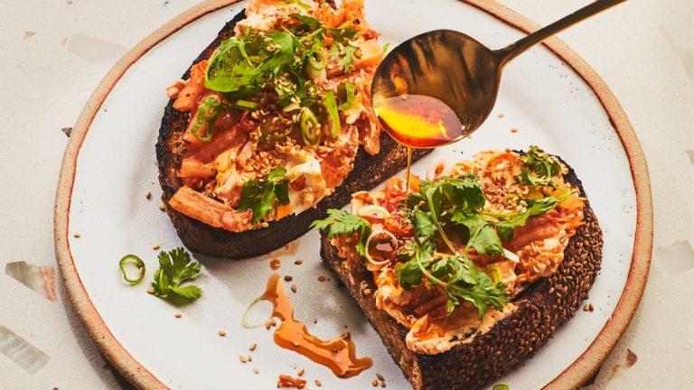 Kimchi Toast