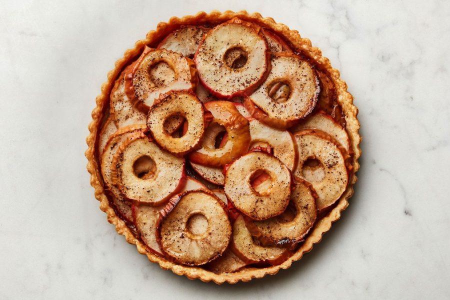 <pre>Tarte aux pommes nue