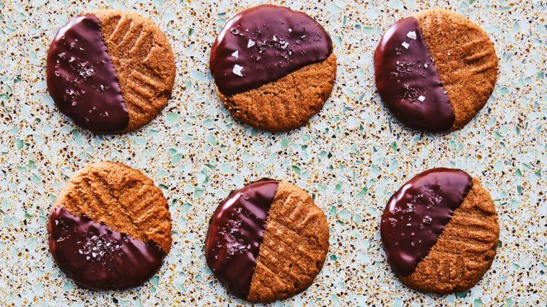 Biscuits au beurre miso-amande