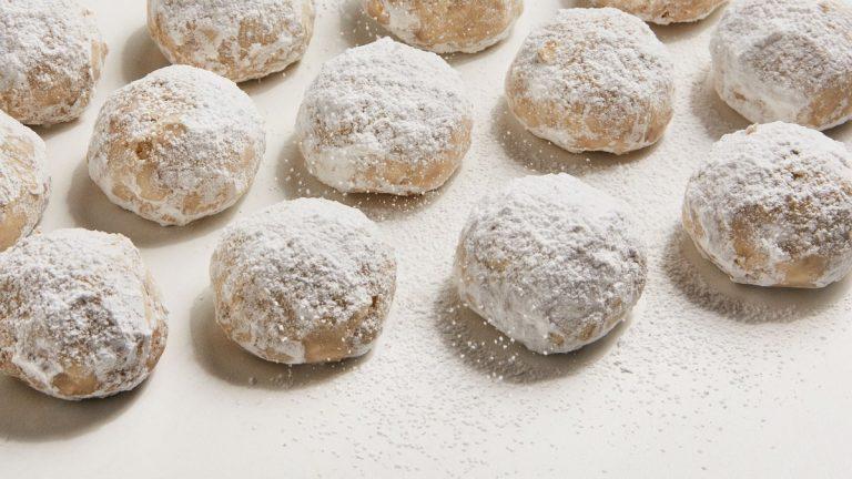 Biscuits de mariage au beurre brun