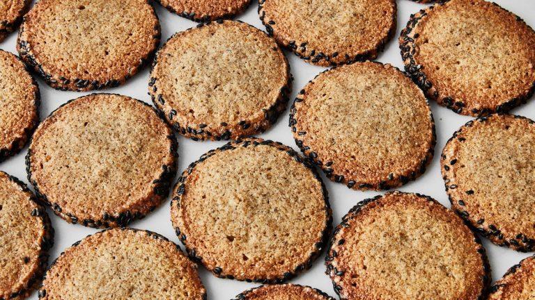 Biscuits sablés au seigle