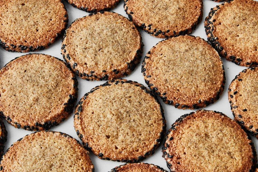 <pre>Biscuits sablés au seigle