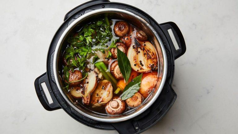 Bouillon de légumes instantané