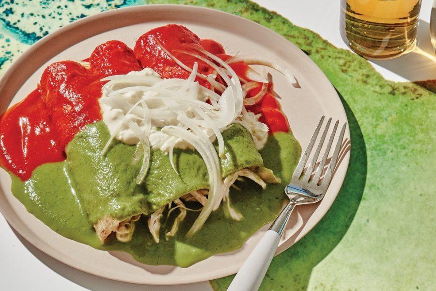 <pre>Enchiladas Divorciadas