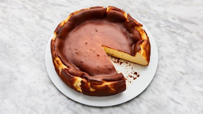 Gâteau Au Fromage Basque Brûlé