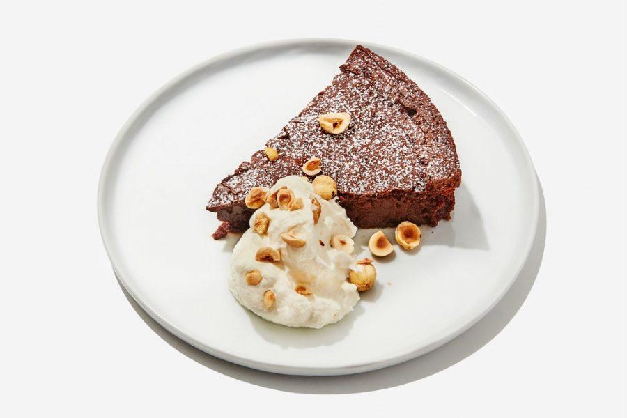 <pre>Fudgy Gâteau Au Chocolat Sans Farine
