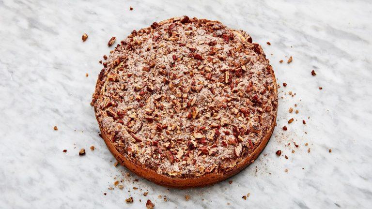 Gâteau au café à la crème sure de The Silver Palate Cookbook