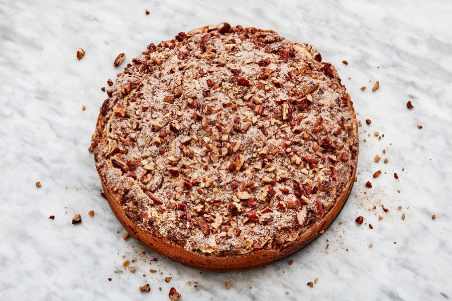 <pre>Gâteau au café à la crème sure de The Silver Palate Cookbook