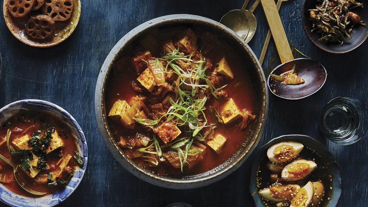 <pre>Kimchi Jjigae