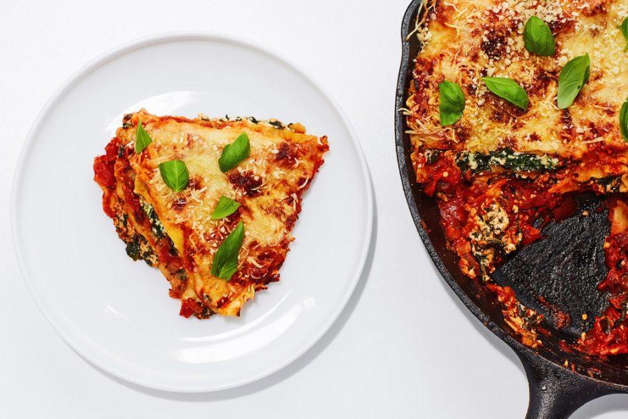 <pre>Lasagne à la poêle