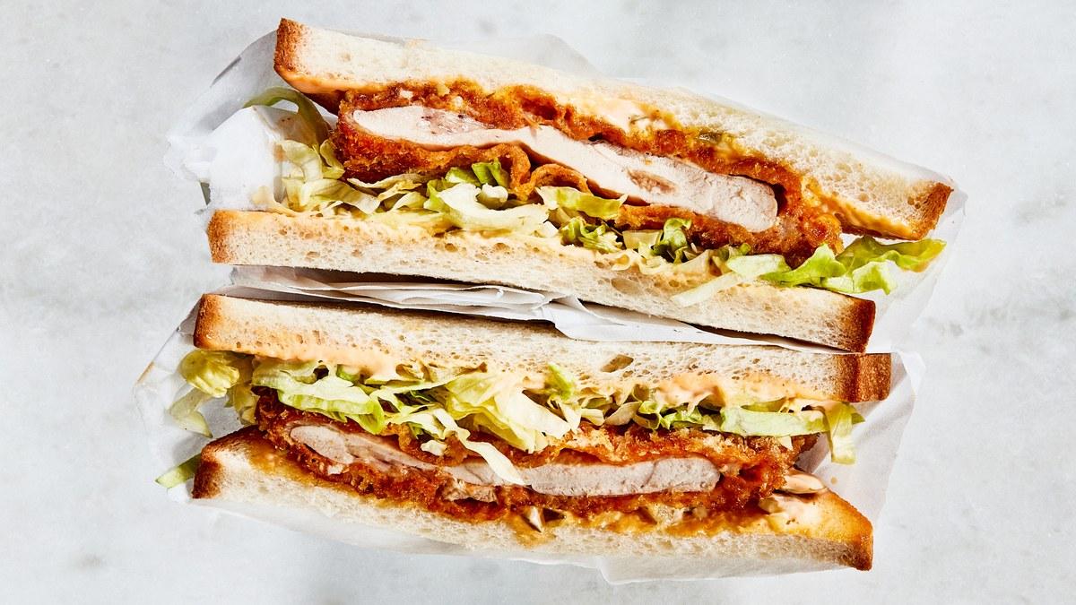 Sandwichs au poulet Katsu