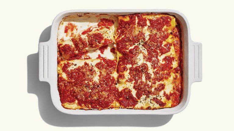 Cannelloni à la saucisse et à la ricotta