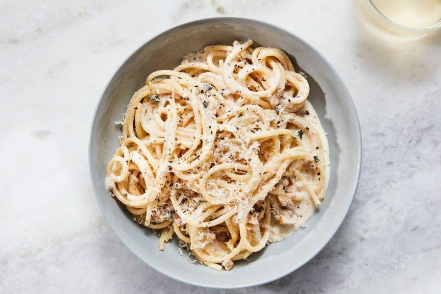 <pre>Pâtes au Pesto Blanc