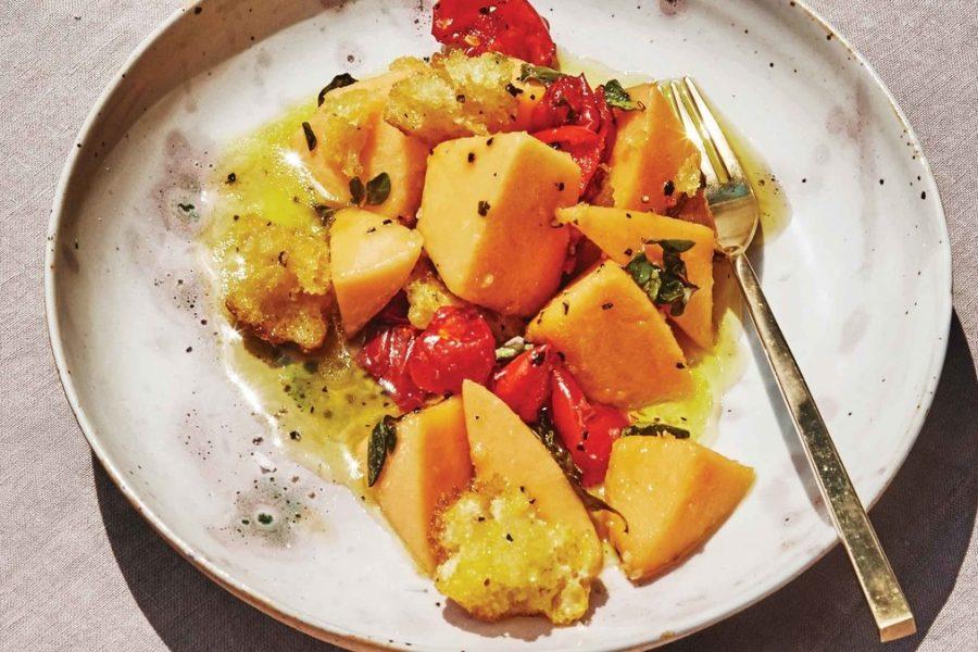 <pre>Melon Panzanella