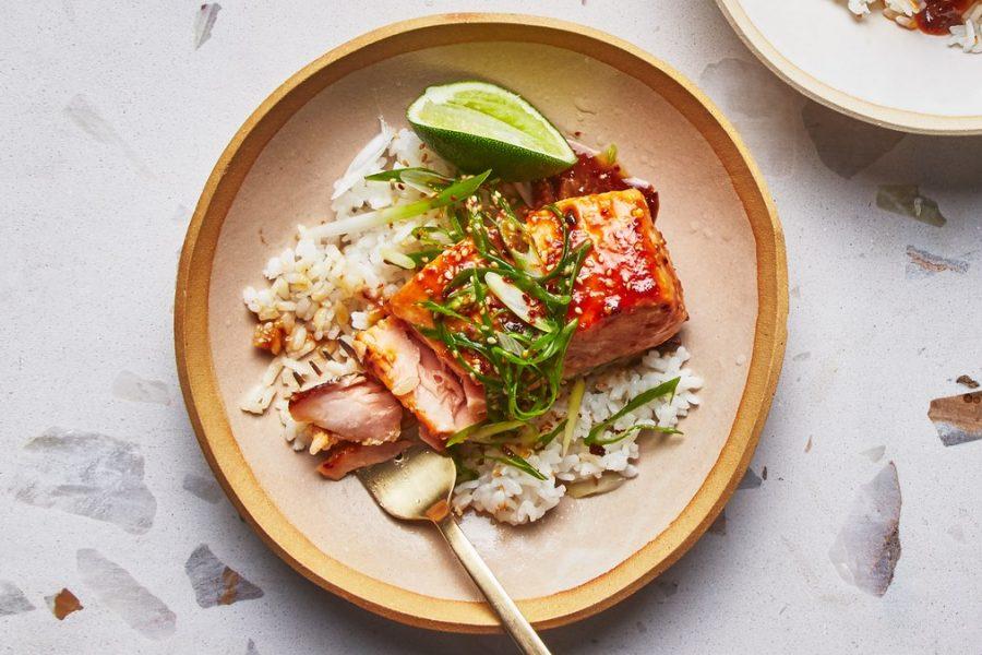 <pre>riz à sushis