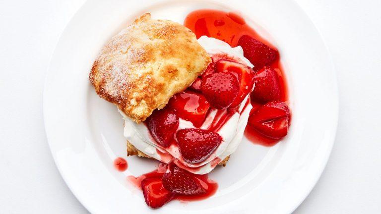 sablés aux fraises