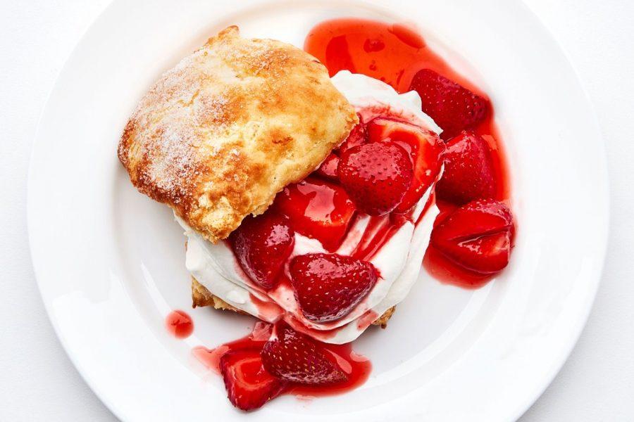 <pre>sablés aux fraises