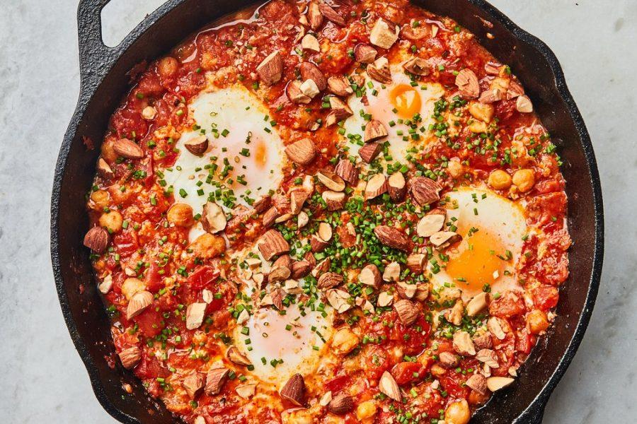 <pre>Œufs de tomate au purgatoire