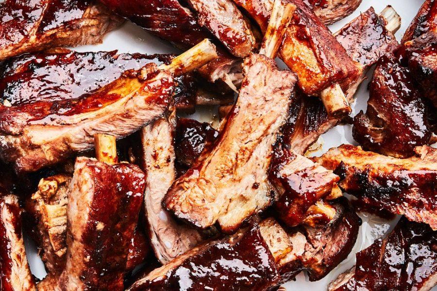 <pre>Côtes de porc chinois aux cinq épices