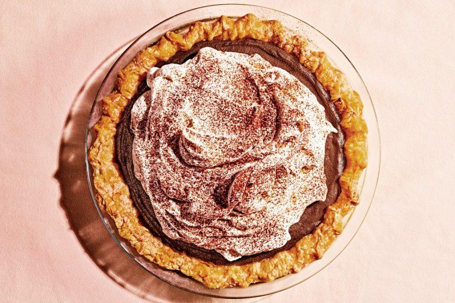 <pre>Tarte au pouding au chocolat