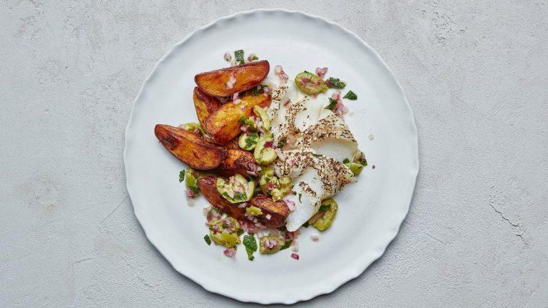 Fish and Chips Za'atar