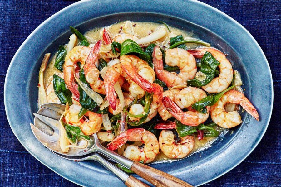 Crevettes et langoustines rampantes