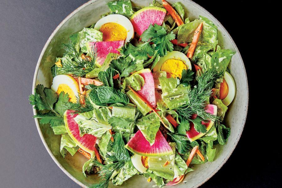 Salade hachée Potluck