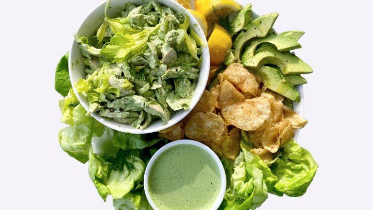 Salade de déesse verte Anything-Goes