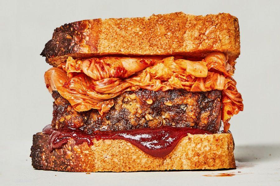 Sandwich au pain de viande Bulgogi