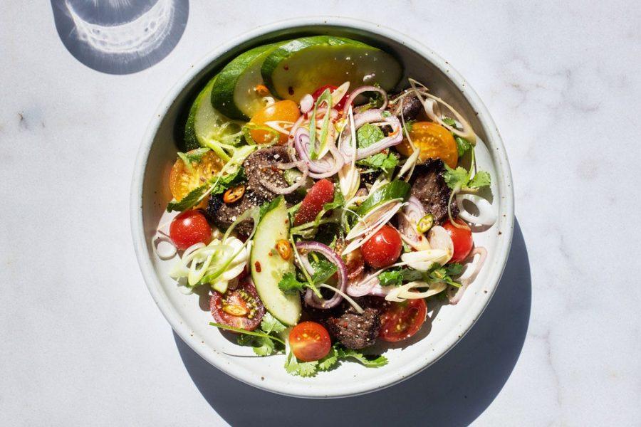 Yum Nua (salade de boeuf thaï)