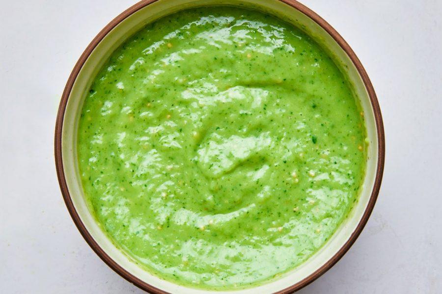 Salsa Verde ou Roja Cruda
