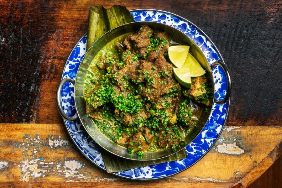 Chèvre au curry