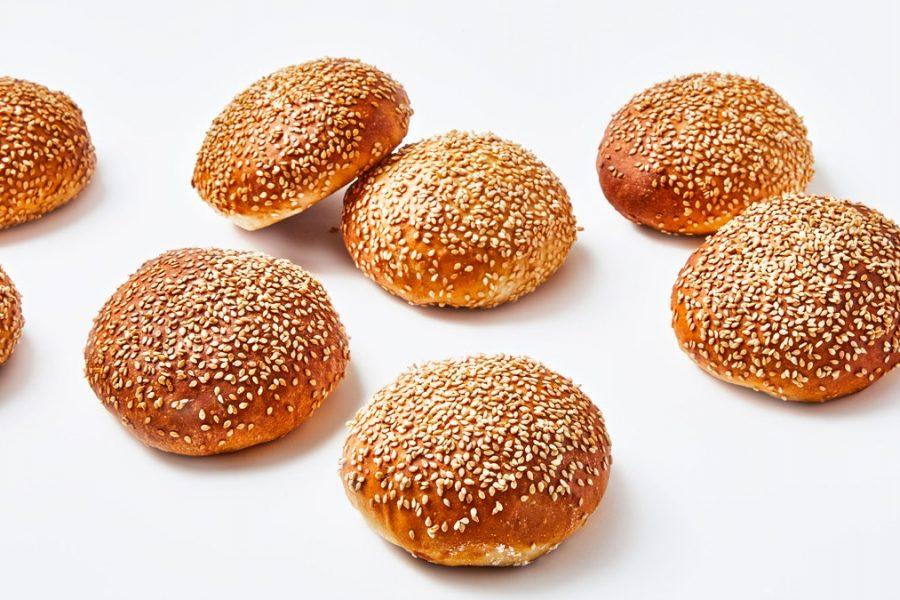 Petits pains burger au sésame
