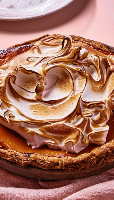 Tarte au whisky aux patates douces