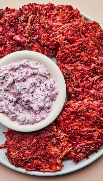 Beet Beet Beet With Yogurt Beet Greens