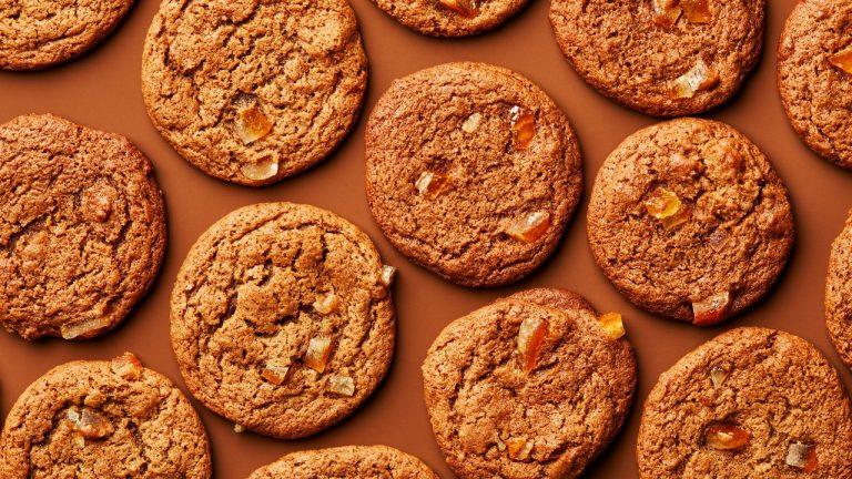 Biscuits au gingembre et aux agrumes