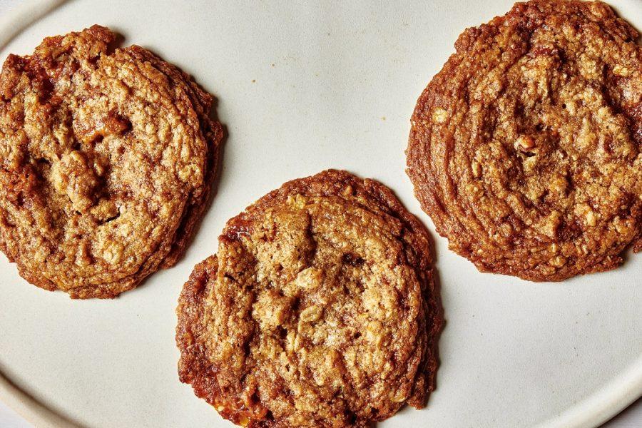 Biscuits cassants à l'avoine et aux pacanes