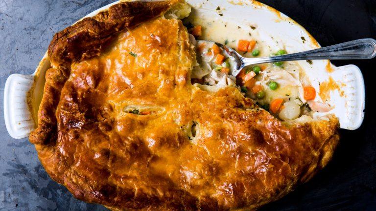 Pâté au poulet classique
