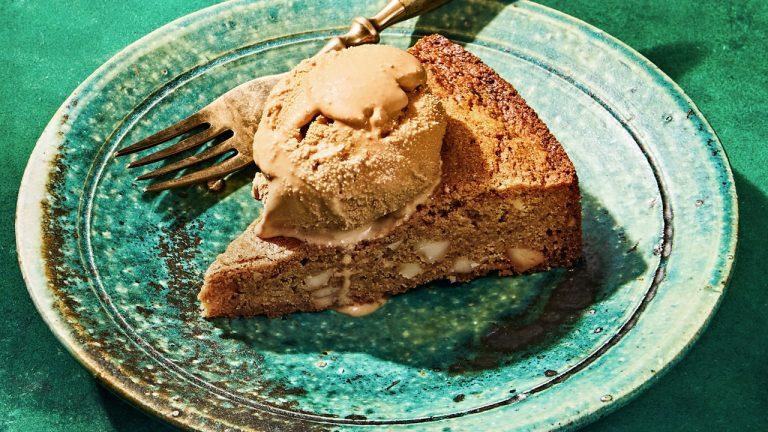 Blondies à la macadamia et au beurre brun