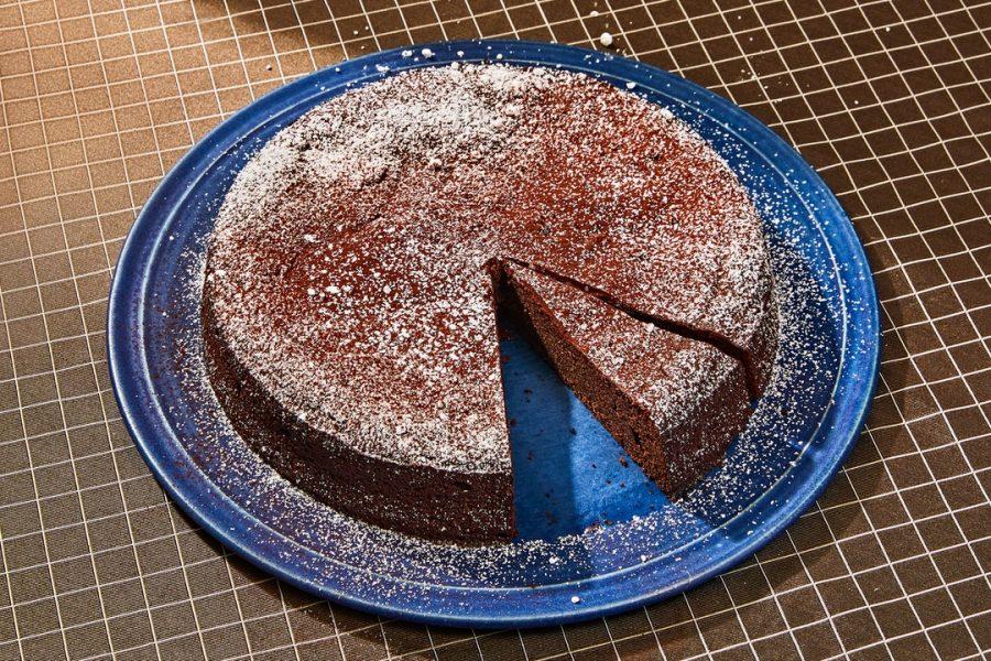 Gâteau au sarrasin au chocolat