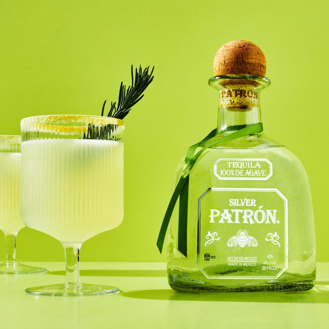 Margarita scintillante au gingembre
