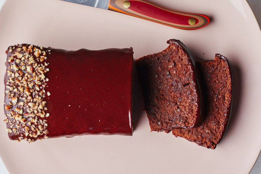 Gâteau au chocolat sans farine avec ganache Café de Olla