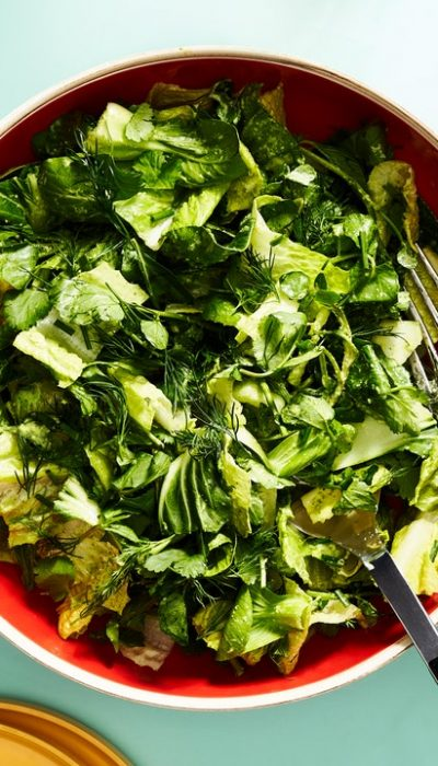 Crunchy Greens Avec Fat Choy Ranch