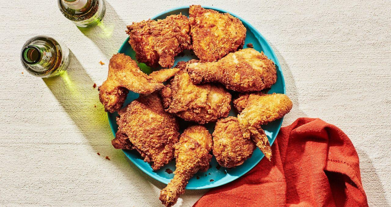 Poulet frit pique-nique de Barbara