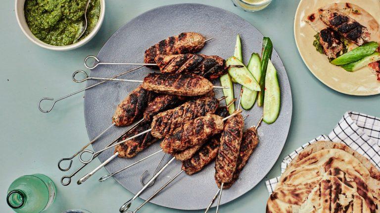 Kebabs au poulet