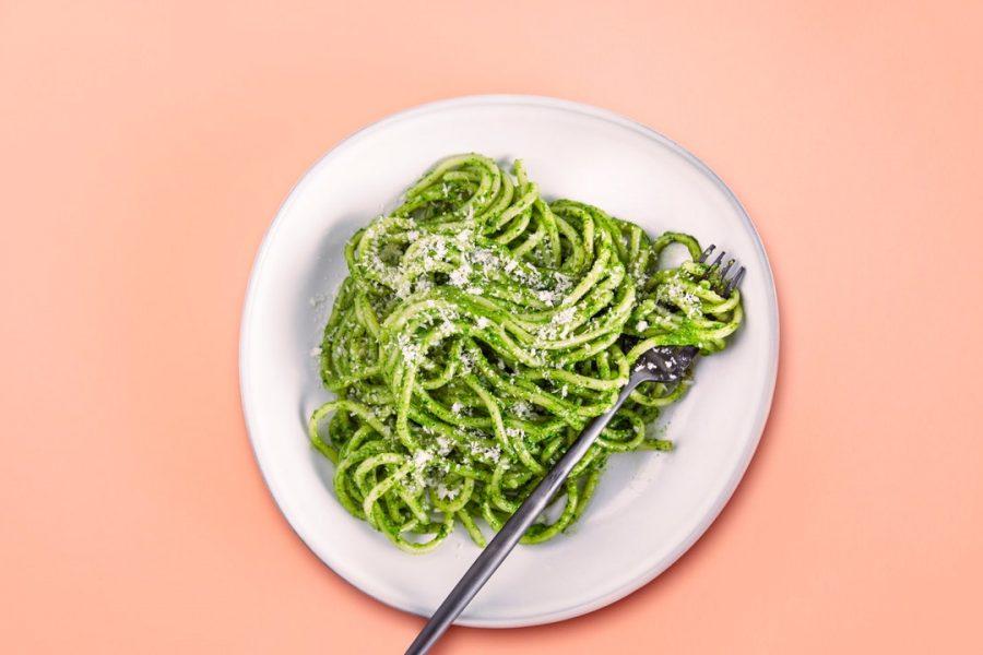 Pâtes au pesto avec V8® Healthy Greens