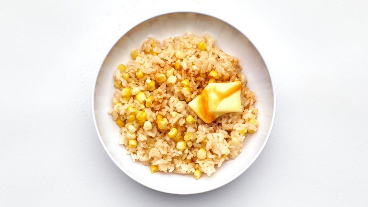 Riz au maïs d'été
