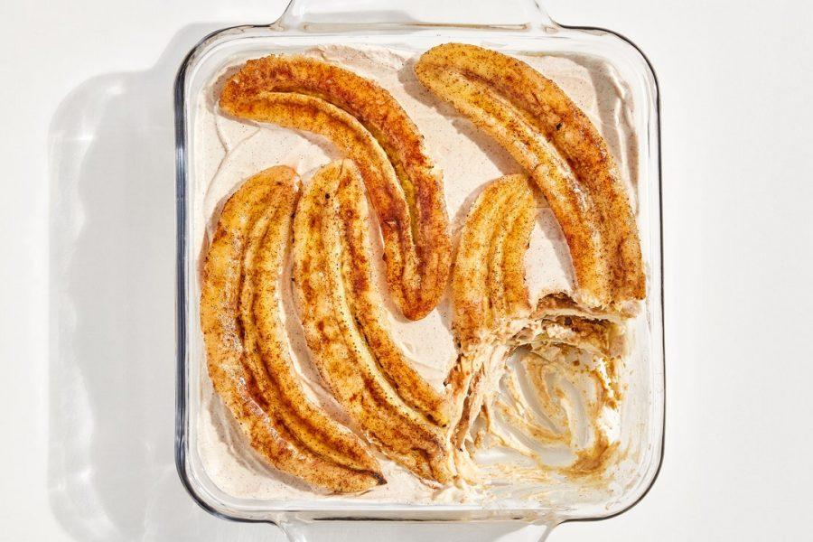 Pudding à la banane classique
